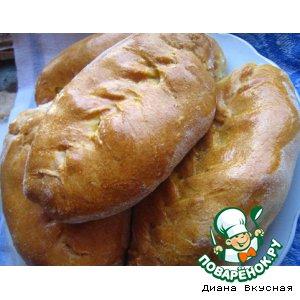 Пирожки с картофелем обычные
