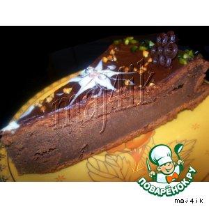Шоколадно-банановый тортик