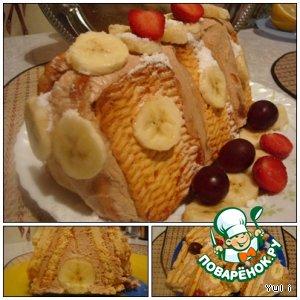 """Торт """"Домик для банана"""""""