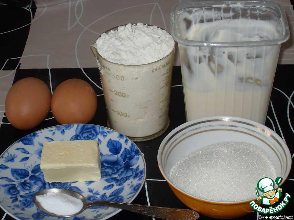 Приготовьте необходимые продукты, чтобы все было под рукой.