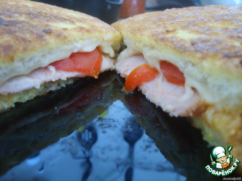 Пишу рецепт и жую бутерброд))) Вкусно мне)))   И вам приятного аппетита!!!