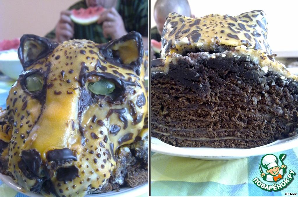 Все очень хотели сохранить голову животного... и действительно! Посмотрите! Вот что осталось от леопарда на следующее утро...