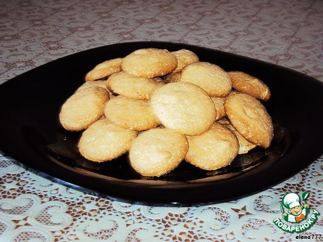 """Вот и всё, наши """"монетки"""" готовы!    Получилось супер-нежное, воздушное, ароматное и очень вкусное печенье!"""