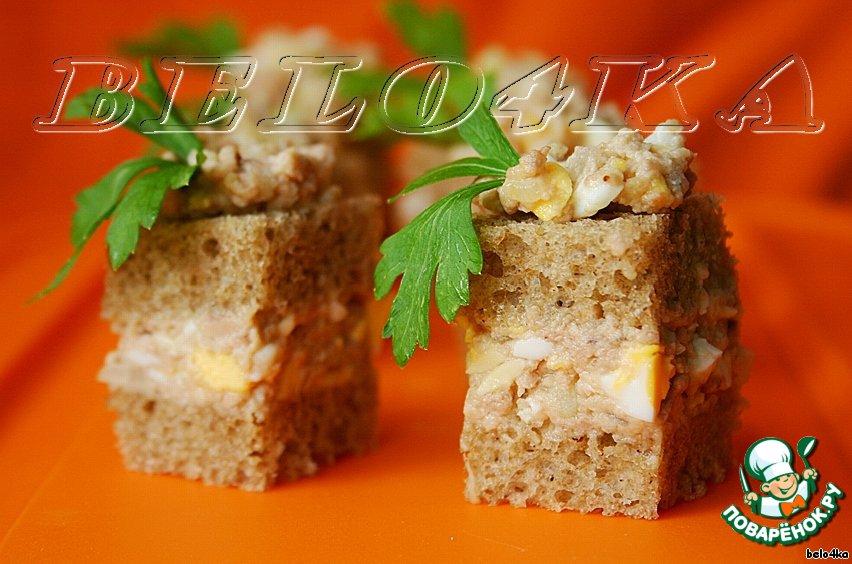Охладить, намазать на кусочки хлеба и... приятного аппетита!