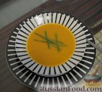 Крем-суп на скорую руку из того, что под нее попало :)))