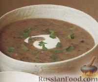Картофельно-грибной суп-пюре