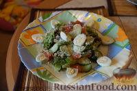 """Легкий овощной салат """"Любимый"""""""