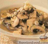Тайский грибной суп