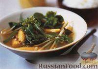 Тайский суп-карри