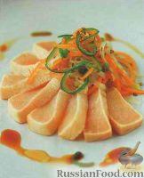Рыба-меч с овощами