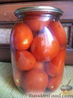 Простые маринованные помидоры