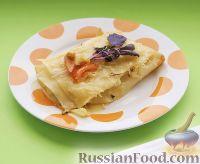 Каннеллони по-милански, с кабачком, сыром и базиликом