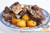 """""""Пирожок"""" (тушеное мясо с картошкой)"""