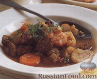 Деревенский суп с бараниной