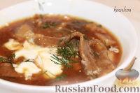 Грибной суп с грибной лапшой