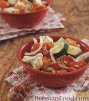 Овощной маринованный салат