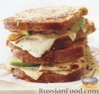 Сэндвичи с индюшатиной и авокадо