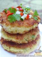 Сырно-картофельные блинчики