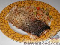 Толстолобик с рисом к Новогоднему столу