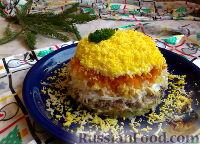 Салат «Мимоза» с сардинами