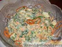 Изысканный салат со стручковой фасолью