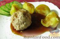 Тефтели с картофелем на пару