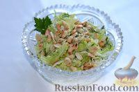 Салат из пекинской капусты с арахисом