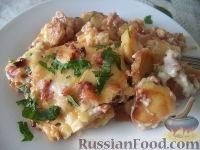 Мусака с картофелем