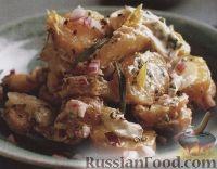 Картофельный салат с сельдереем и эстрагоном