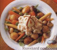 Картофельно-овощной салат