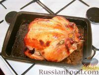 Курочка в горчично-медовом соусе