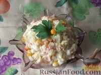Салатик из крабовых палочек