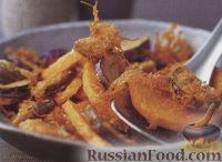 Овощи, жаренные во фритюре