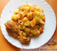 Курица в чайном маринаде, приготовленная в мультиварке