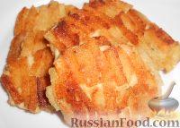 Шницель из курицы в панировке из сухарей