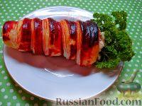 Мясной салат «Морковка»