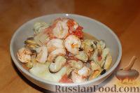 Рагу с морепродуктами