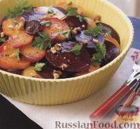 Салат из печеной свеклы
