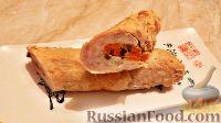 Домашняя колбаса с грибной начинкой