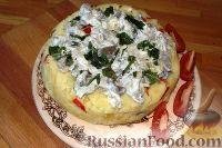 Картофельная запеканка с сыром (в мультиварке)