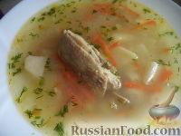 Суп из овсяной крупы