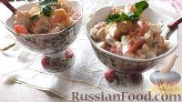 Салат из куриной грудки и фасоли