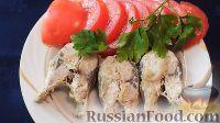 Рыба красноглазка в сметане