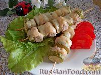 Люля-кебаб с кабачками