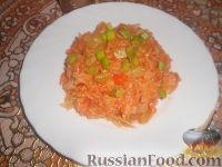 Рис с кабачками и капустой (в мультиварке)