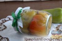 Перец, печенный в мультиварке, на зиму