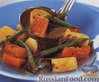 Пряное овощное рагу с кокосовым молоком