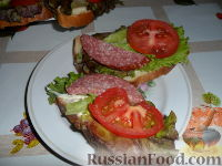 """Бутерброд """"Для Меня"""""""