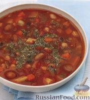 Фасолевый суп с цуккини