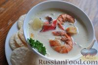 Чаудер - классический морской суп